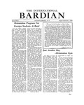 International Bardian, Special Issue (August/September, 1952)