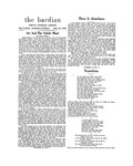 Bardian, Special Literary Edition (June 18, 1952)