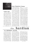 Bardian, Vol. 1, No. 3 (November 15th, 1948)