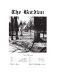 Bardian, Vol. 2, No. 4  (November 14, 1947)