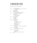 Bard Observer, VOl. 101, No. 27 (May 18, 1994)