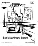 Bard Observer, Vol. 103, No. 1 (August 30, 1995) by Bard College