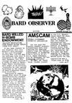 Bard Observer (September-December 1987) by Bard College