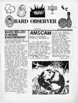 Bard Observer (September - December, 1957) by Bard College