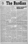 Bard Observer, Vol. 2, No. 1 (October 7, 1959)
