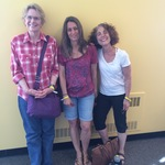 Shelley Weinstock, '76, Lisa Pence, '75, and Deborah Bornstein-Gichan, '76 (BardCorps)