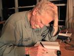 Robert Kelly writing, September 2009