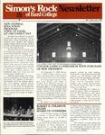 Simon's Rock of Bard College Newsletter, December 1980 by Bard College at Simon's Rock