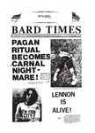Bard Times, Vol. 1, No. 1 (November 19th, 1981) by Bard College
