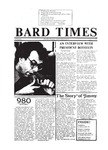 Bard Times, Vol. 20, No. 5 (March 13th, 1980) by Bard College