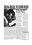 Bard Times, Vol. 20, No. 8 (November 15th, 1979) by Bard College