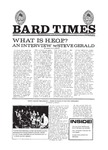 Bard Times, Vol. 20, No. 7 (October 25th, 1979) by Bard College