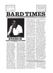 Bard Times, Vol. 20, No. 4 (October 4th, 1979) by Bard College
