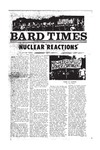 Bard Times, Vol. 20, No. 3 (May 17th, 1979) by Bard College